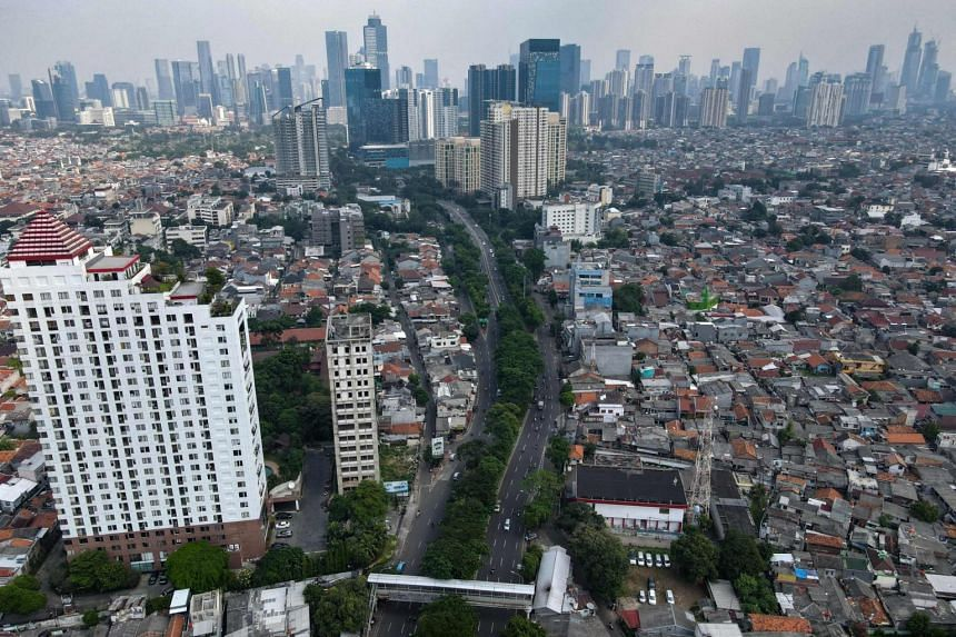 The number of unemployed people in Indonesia increased to 8.75 million as of February.