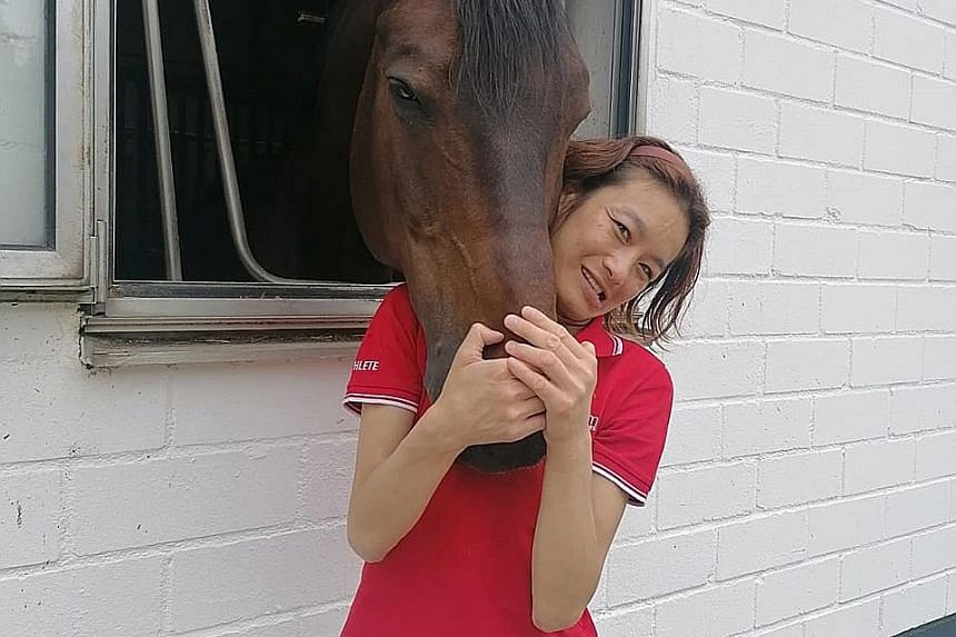 Laurentia Tan, who has one silver and three bronzes at the Paralympics, will be competing in the para dressage team event and para dressage individual grade I in Tokyo in her fourth outing.