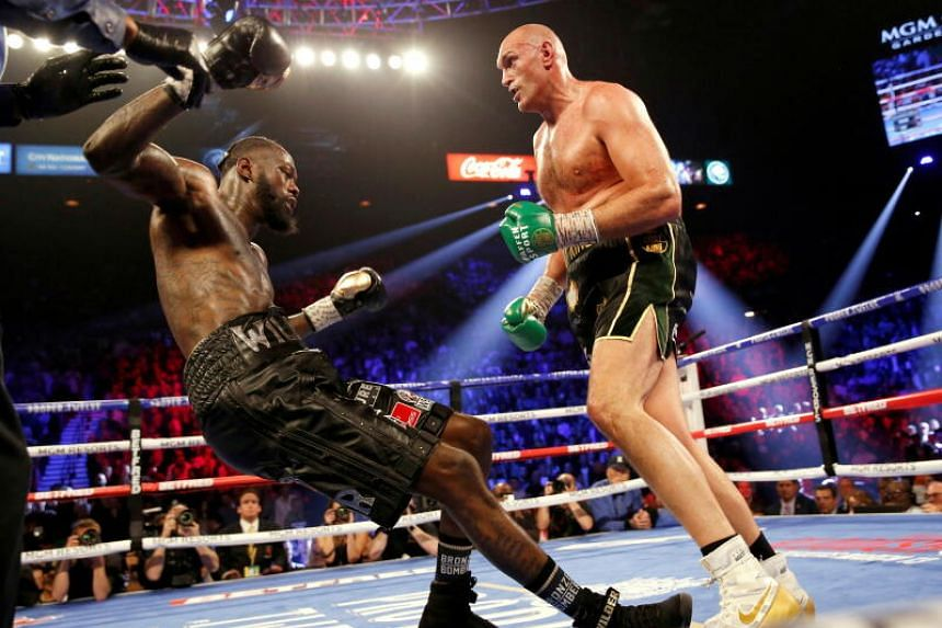 Fury handed Wilder a brutal beating in seven one-sided rounds in their second fight in February 2020.