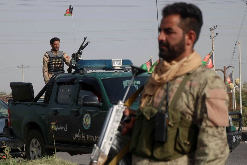 The Taleban's advances have raised fears that Afghan security forces may become demoralised without US air support.