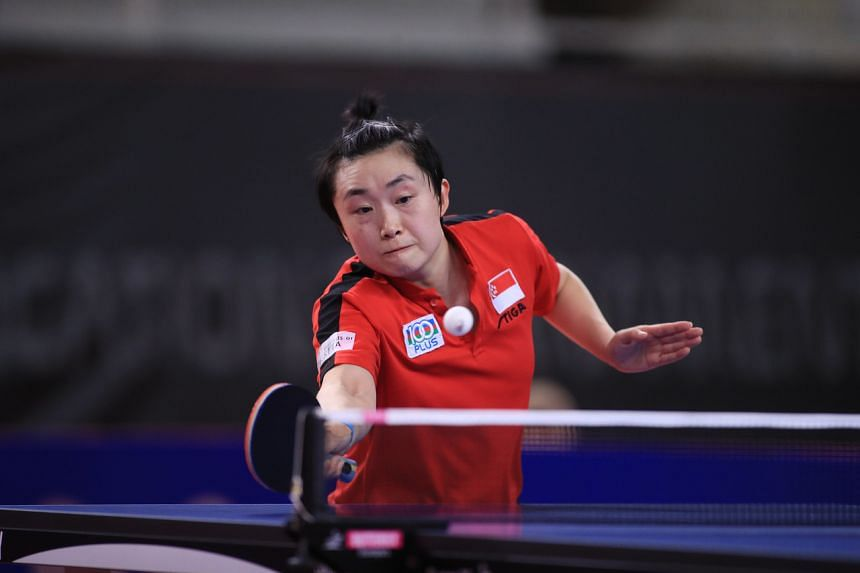 Feng Tianwei is part of the Republic's 23-member athlete contingent that will feature at the July 23-Aug 8 Games.