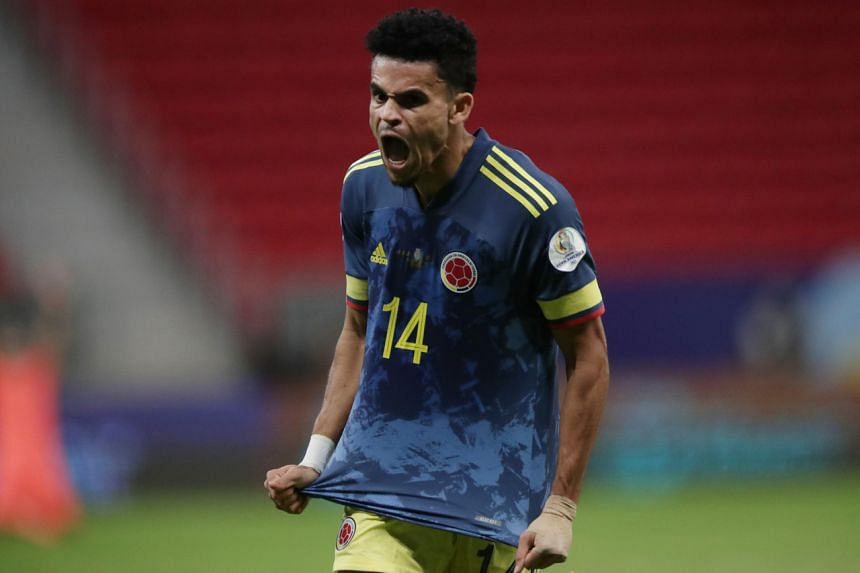 Luis Diaz's sensational last-gasp goal gave Colombia their fifth third-place finish and first since 2016.