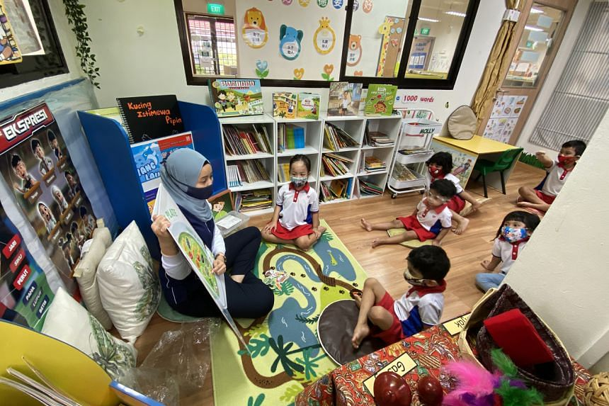 Last year, about 63 per cent of Malays aged between five and 14 spoke English at home, up from 25 per cent in 2010.