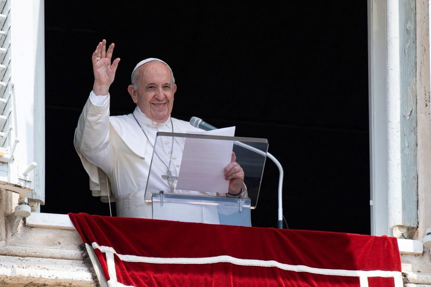 It is the first time Pope Francis has been hospitalised since he became pope in 2013.