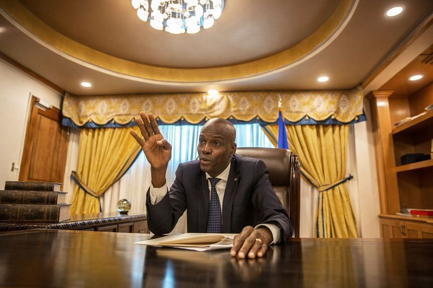Haiti's President Jovenel Moise was killed by a squad of gunmen in his home last week.