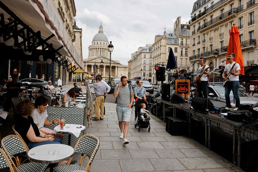 France could reintroduce limits on the number of people allowed in bars, restaurants in other venues.