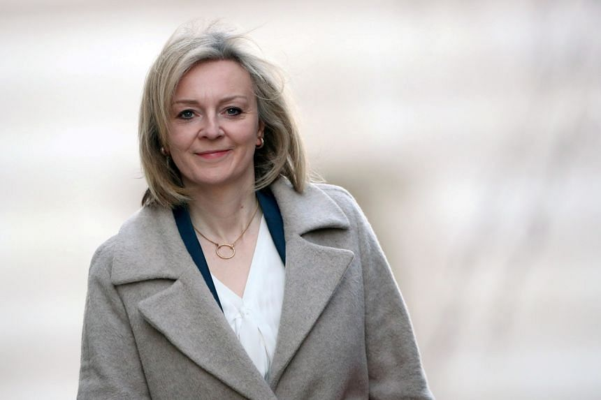 British trade minister Liz Truss (pictured) will meet with US Trade Representative Katherine Tai during a five-day visit to the US.