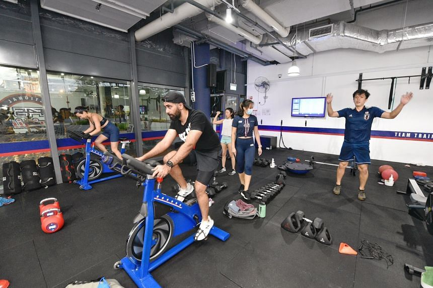 Indoor, mask-off sports and exercise activities are now allowed to take place in groups of five.