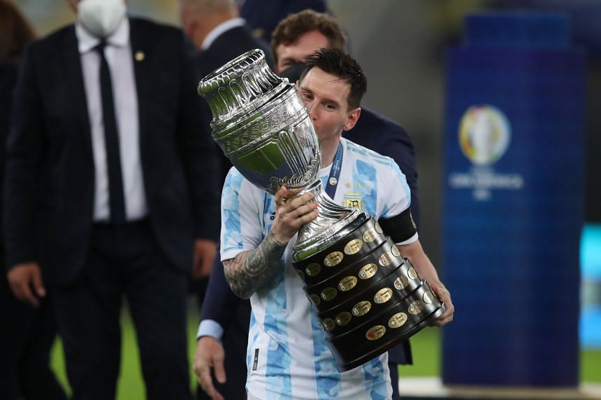 Argentina's success over the Brazilians in Rio was not just Messi's first major trophy for the Albiceleste but also his country's first continental honour in 28 years.