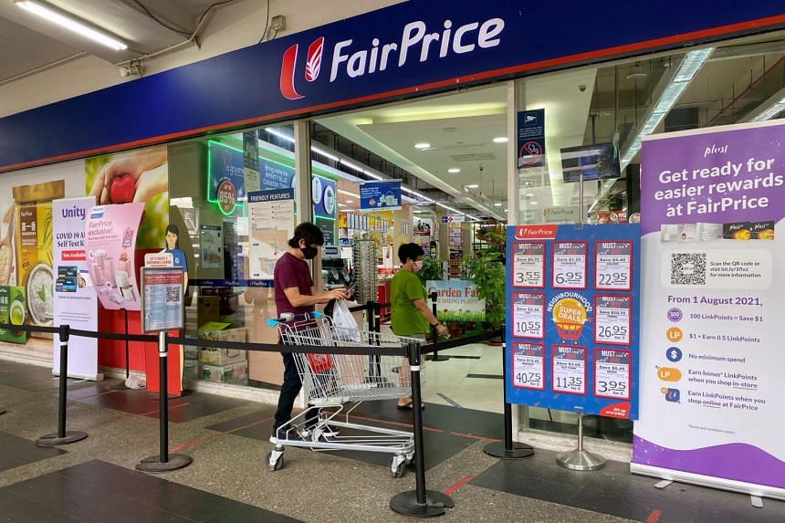 The Blue card discount scheme will cost FairPrice an estimated $500,000 this year.