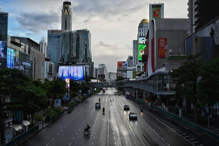 Thailand has posted over 326,300 cases and 2,711 deaths - with the bulk of them from the latest wave that kicked off in April.