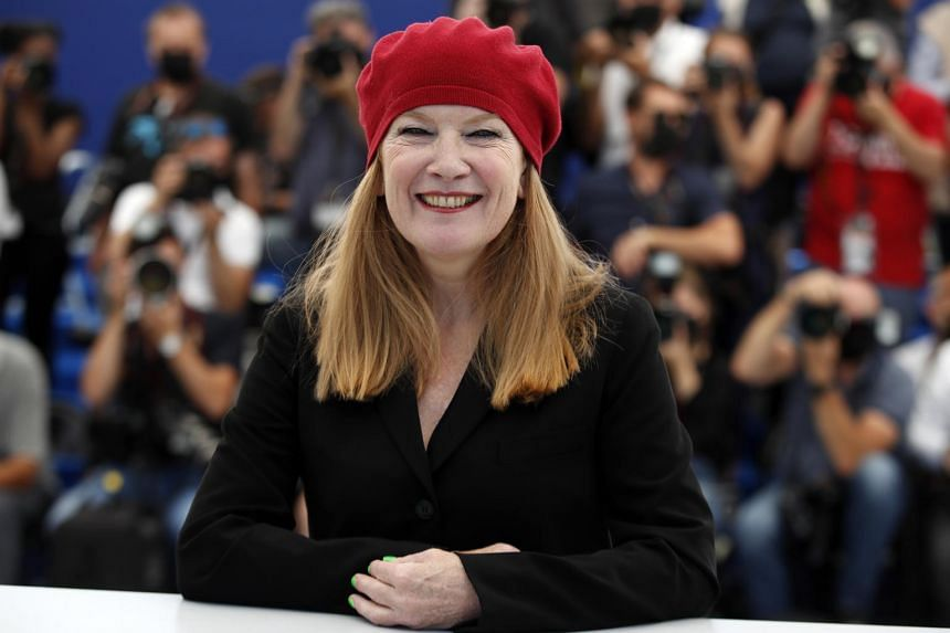 The 100-minute biopic by director Andrea Arnold (pictured) got deep insights into the lives of bovines.