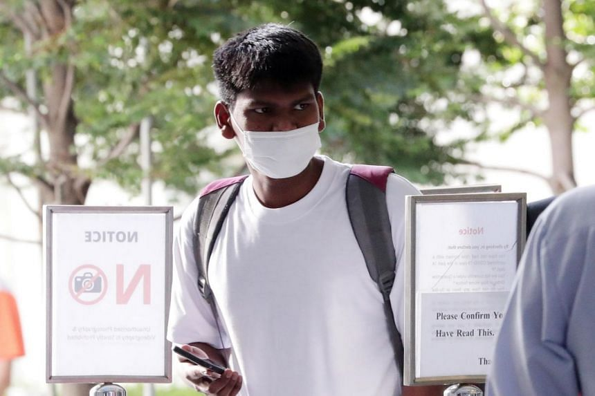 Balachandran Parthiban was sentenced to nine months' jail after he pleaded guilty to two charges under the Infectious Diseases Act.