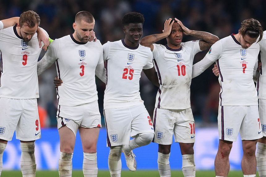 England lost to Italy 3-2 on penalties in the Euro 2020 Final.