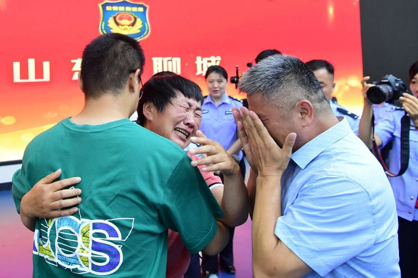 Chinese father reunited with kidnapped son after 24-year search, East Asia News & Top Stories - The Straits Times