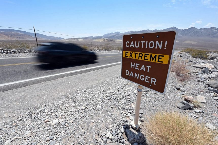 The forecast comes a day after Death Valley, California, hit 54 deg C, one of the highest temperatures ever recorded on earth.