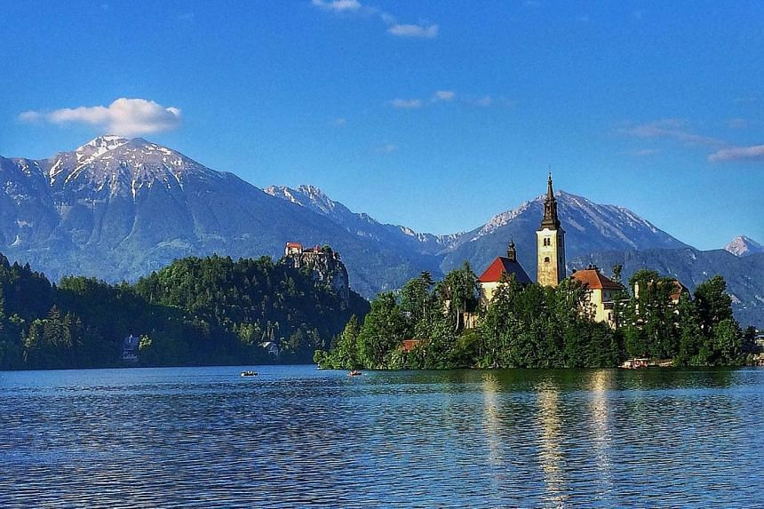 When borders reopen further, enjoy leisurely walks around Slovenia's serene and picturesque Lake Bled.