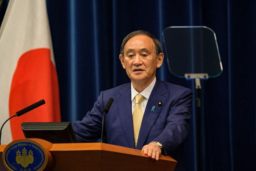Japanese Prime Minister Yoshihide Suga's rivals may smell blood amid the weak public confidence in his leadership.