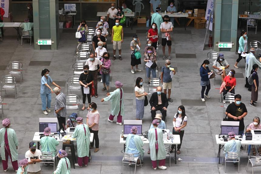 Taiwan is rapidly expanding its vaccination programme.