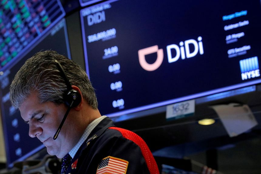 The curbs came as Chinese authorities ordered virtual stores to remove apps for Didi Global days after its US listing.