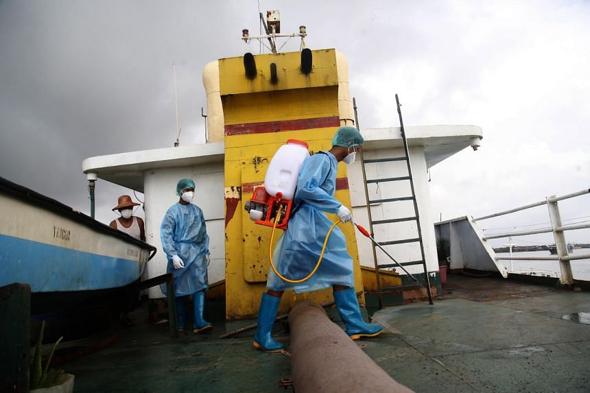 Infections on vessels could further harm already strained global supply chains.