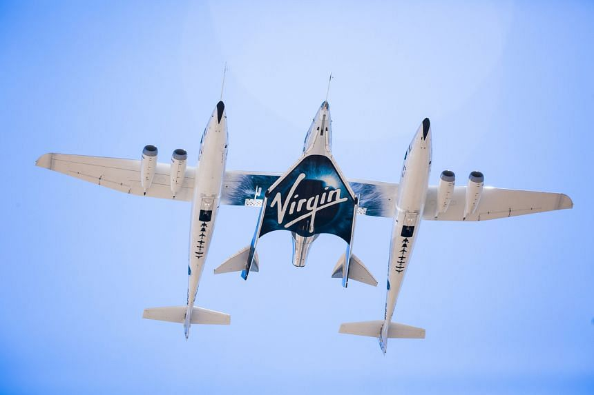 Virgin Galactic shares plunged 17 per cent to US$40.69 at the close in New York, the biggest decline since Dec 14.