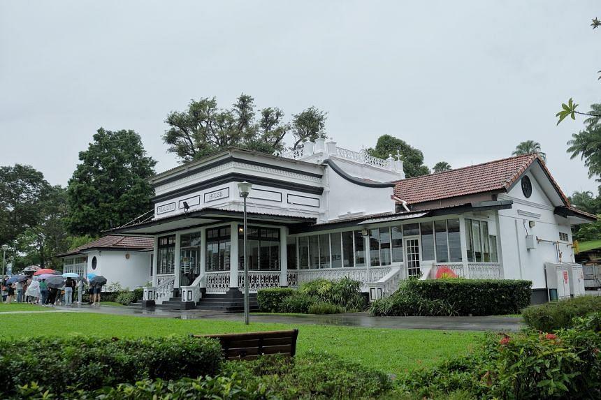 The Beaulieu House at Sembawang Park.