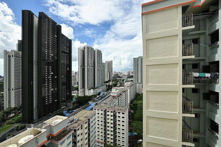 Condo resales may rebound this month as viewing curbs have been further eased and some people may rush to close a deal before the start of the Hungry Ghost Festival next month, said OrangeTee & Tie's Christine Sun.
