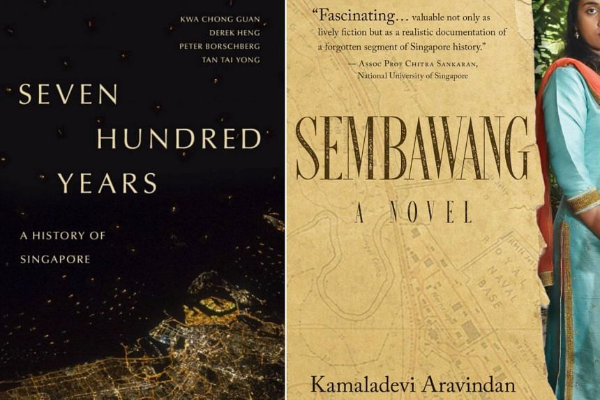 Seven Hundred Years: A History of Singapore and Sembawang are part of a star-studded shortlist of six for the $50,000 prize.