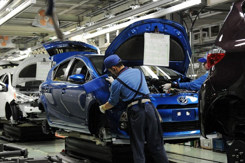 Manufacturers' sentiment got a boost from strong confidence at car, chemical and metal products makers.