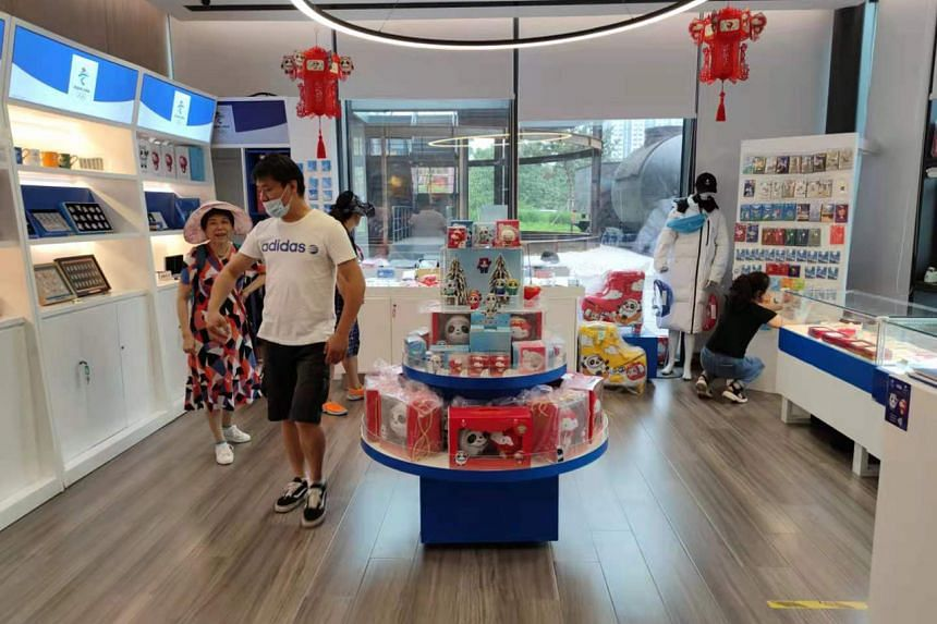 Shops selling more than 140 kinds of official 2022 Winter Olympics merchandise have been set up across China since 2018.