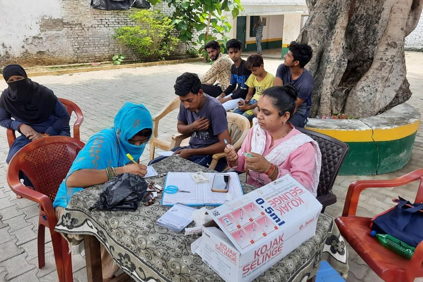 Just 225 individuals between 18 and 45 are fully vaccinated out of the one million target population in Sambhal.