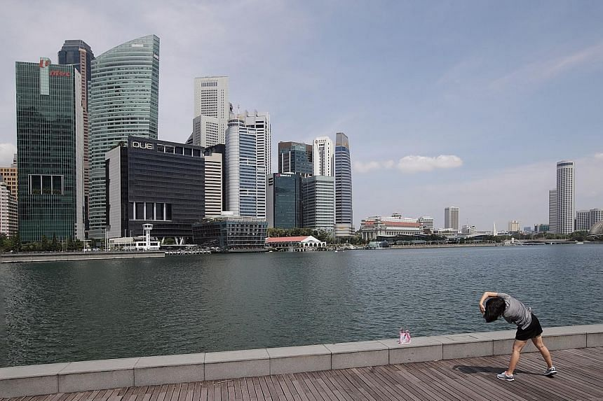 Economists say Singapore's recovery continues, driven by manufacturing and exports that were less hurt by Covid-19 curbs. ST PHOTO: GIN TAY