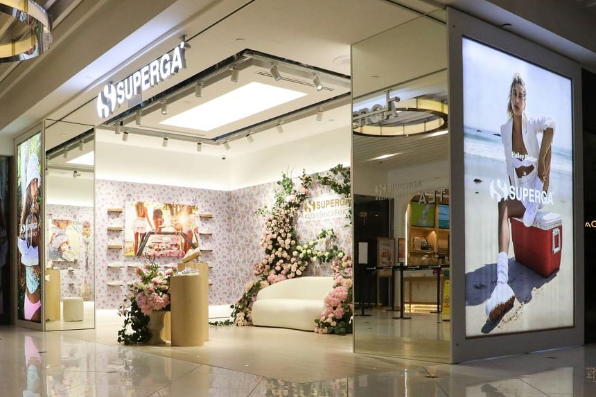 The store opening kicked off with Superga's third collaboration with New York City-based lifestyle brand LoveShackFancy.