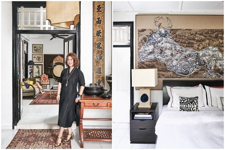 Painter and freelance decorator Malissa Desmazieres in her home in Wessex Estate.