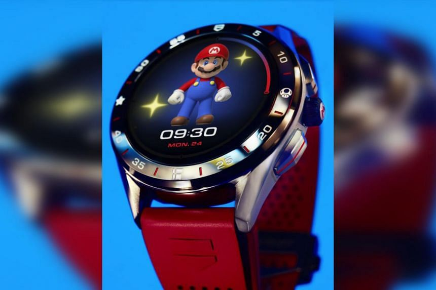 The more physically active the wearer is, the livelier and more animated the watch face becomes.