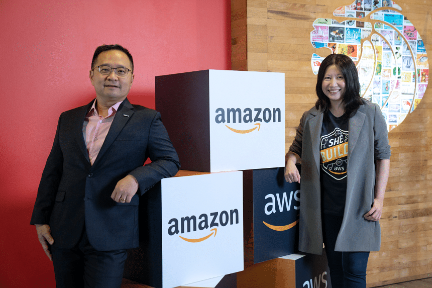 Ministry of Trade and Industry, Amazon, Amazon Singapore, online shopping, delivery, tech giant, technology, Amazon Web Services, jobs, local talent, MNCs