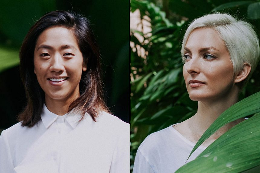 Through Luxe Botanics, founders Jené Roestorf (right) and Rachel Chan are looking to create meaningful conversations about the ethical and sustainable harvesting of natural ingredients. PHOTO: LUXE BOTANICS