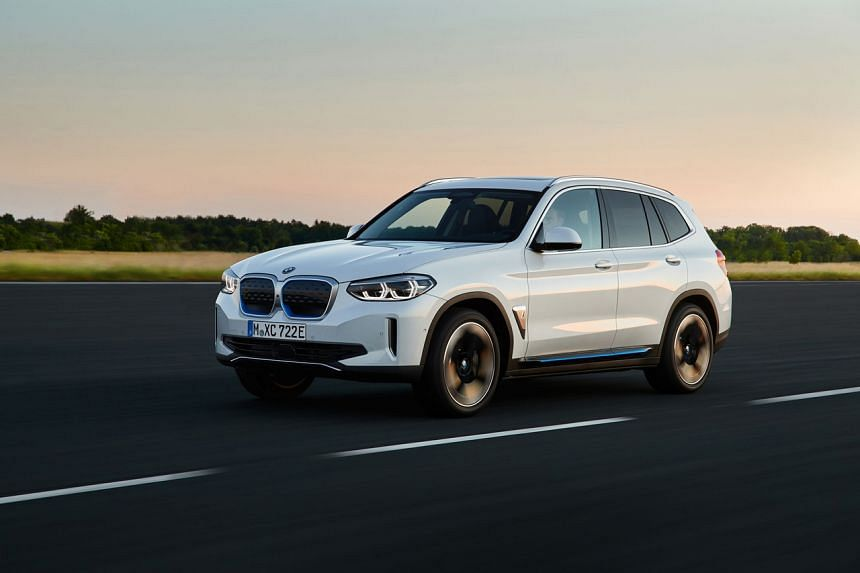The BMW iX3 is the first China-made BMW.