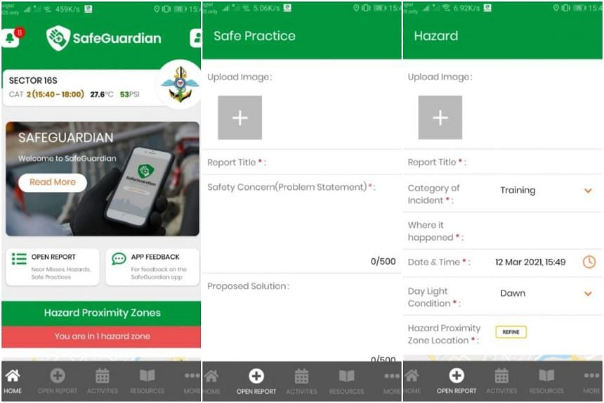 The SafeGuardian app allows safety issues to be acted on more quickly compared with previous reporting methods.