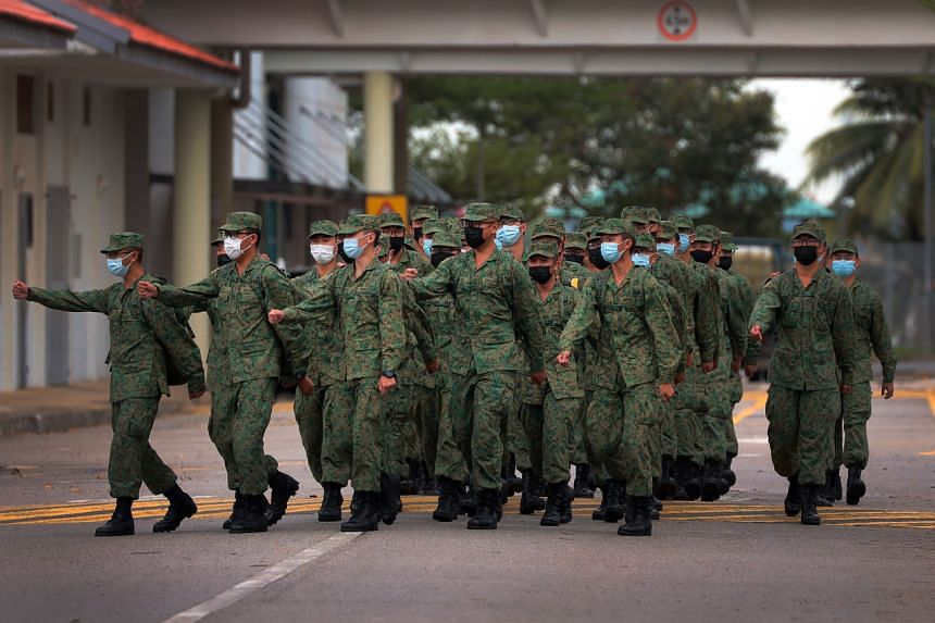 92 per cent of the total Mindef and Singapore Armed Forces active population have received their first doses, with 84 per cent fully vaccinated.