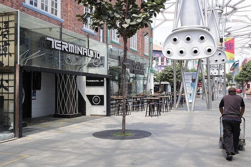Terminal 10 at Clarke Quay is one of the KTV lounges added to the list of KTV outlets where there is likely ongoing transmission of Covid-19.