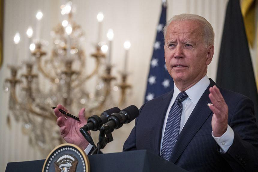 US President Joe Biden said the situation in Hong Kong is deteriorating