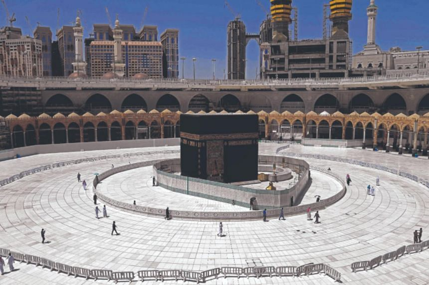 In 2020, only 10,000 residents of Saudi Arabia were able to make the journey to Mecca.