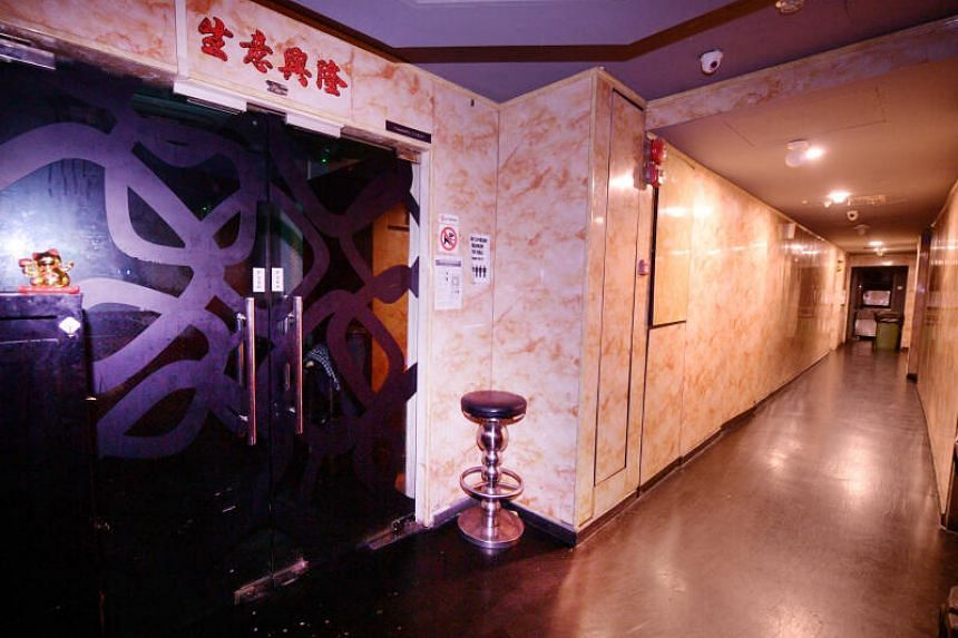 KTV lounges remain popular with men aged between 20 and 50.