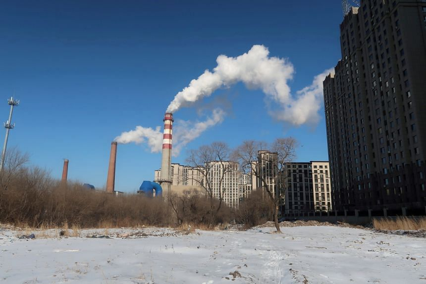 The scheme will set pollution caps for big-power businesses for the first time.