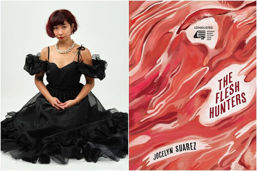 Ms Jocelyn Suarez started out as a poet, but has just published her debut novel The Flesh Hunters.