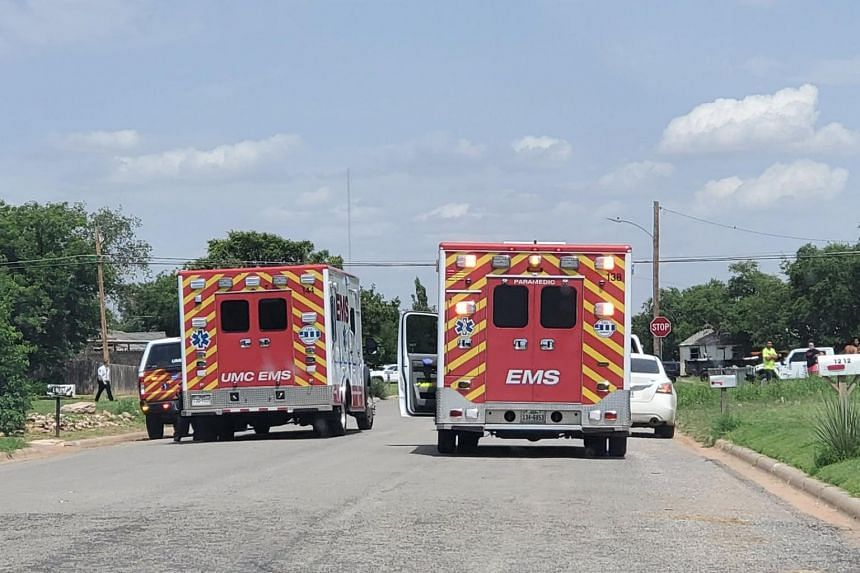 The shooting erupted in Levelland, which is about 50 km west of the city of Lubbock.