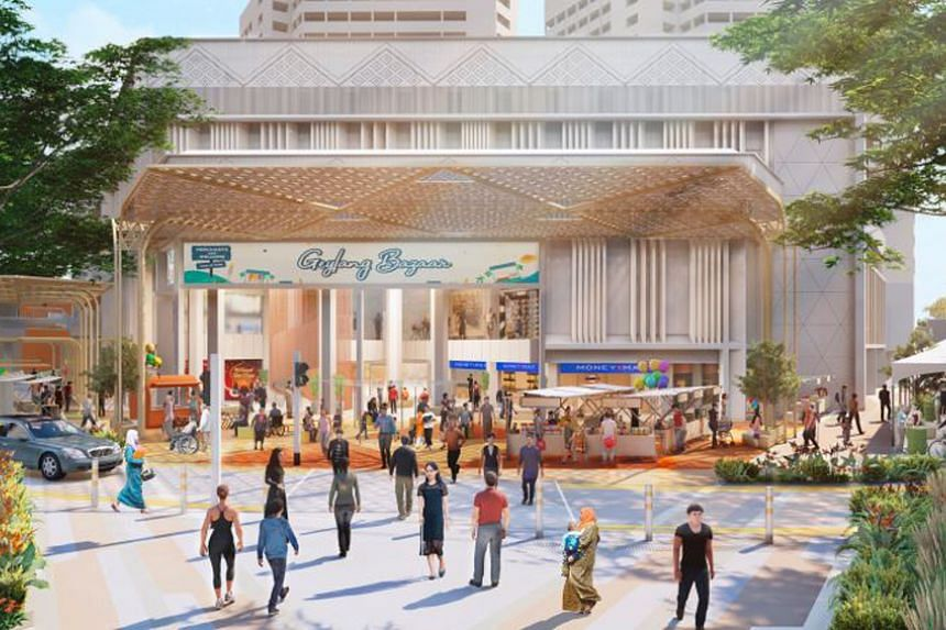 A Festive Plaza at Joo Chiat Complex will serve as a sheltered event space for key festivals.