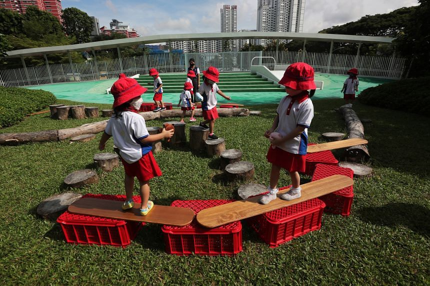 The pre-school is located at the former Henderson Secondary School and features outdoor learning trails on its 35,000 sq ft premises.